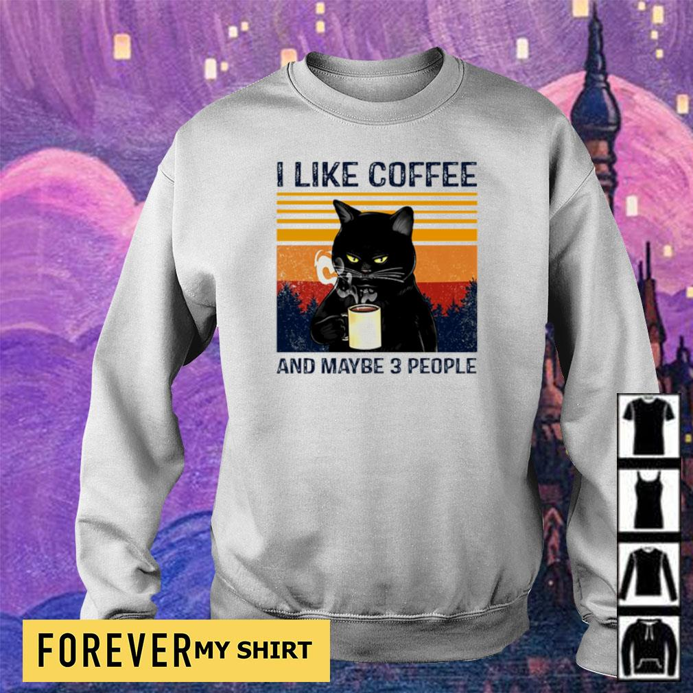 I lkfe coffee and maybe 3 people s sweater