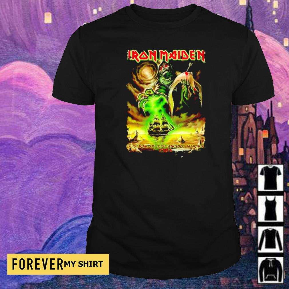 Iron Maiden the time of the ancient mariner 1984 shirt