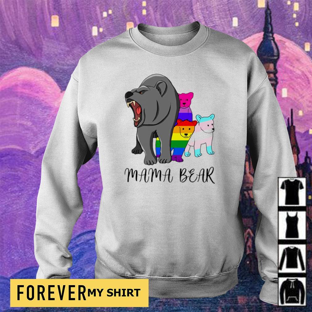 LGBT pride mama bear s sweater