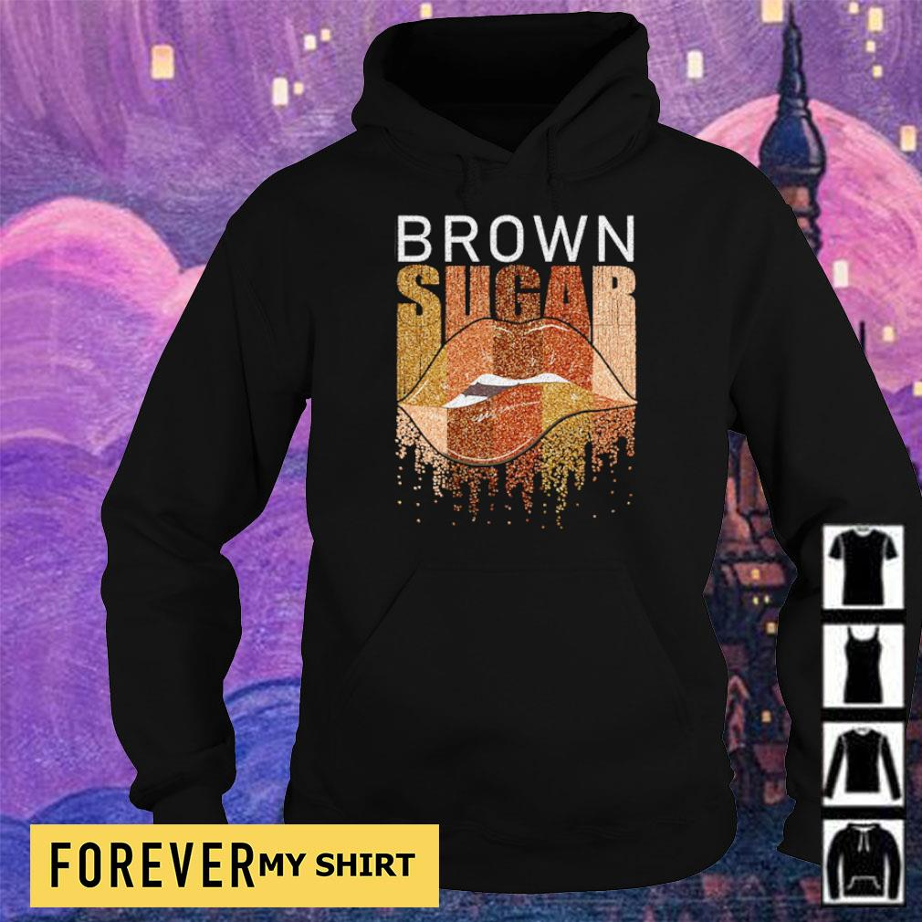Lips brown sugar s hoodie