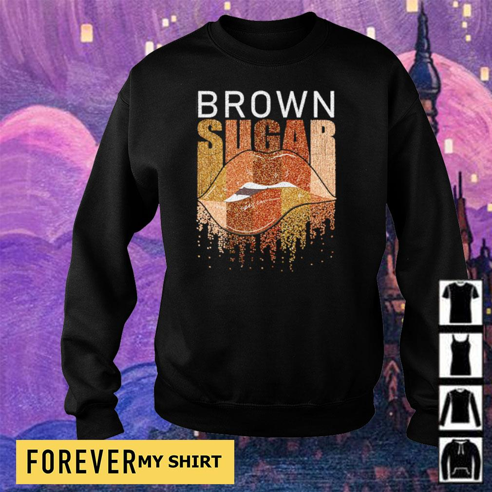 Lips brown sugar s sweater