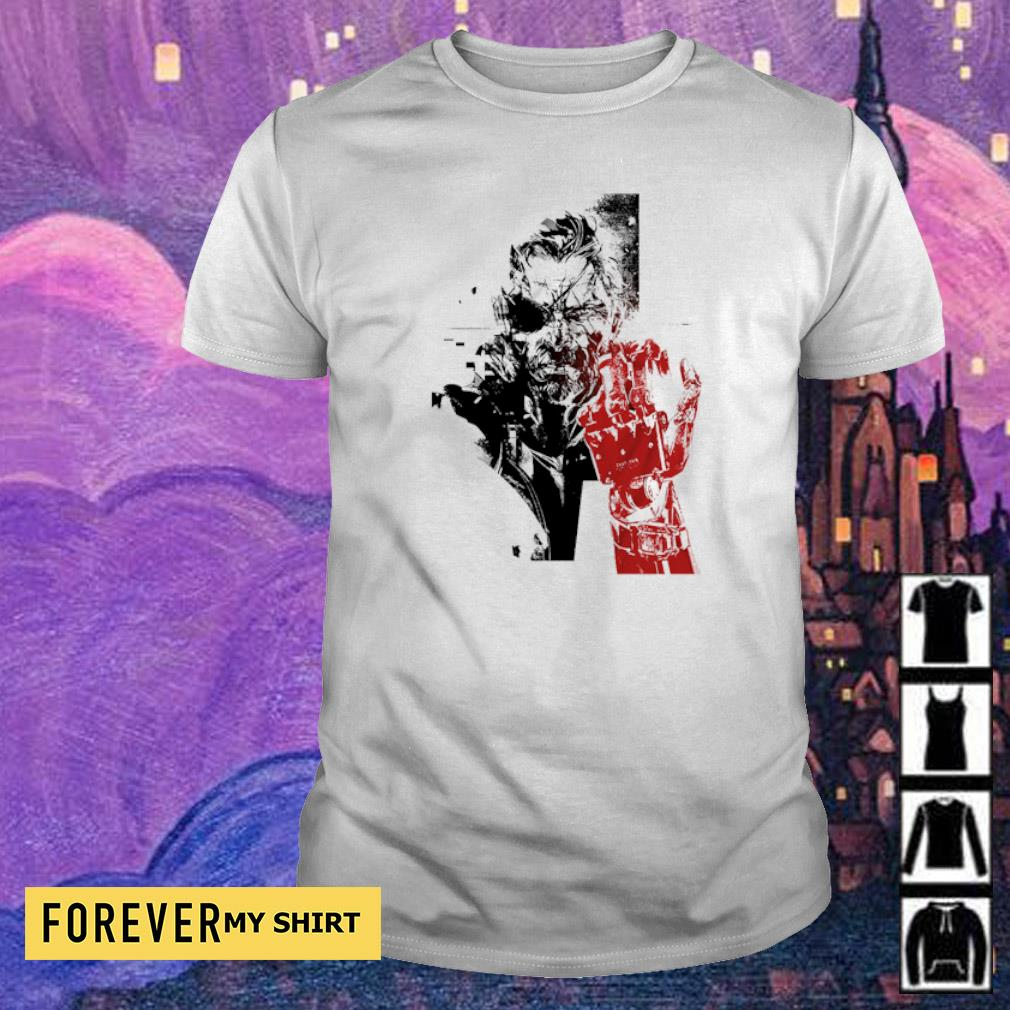 Metal Gear Solid V Venom Snake Bionic Arm shirt