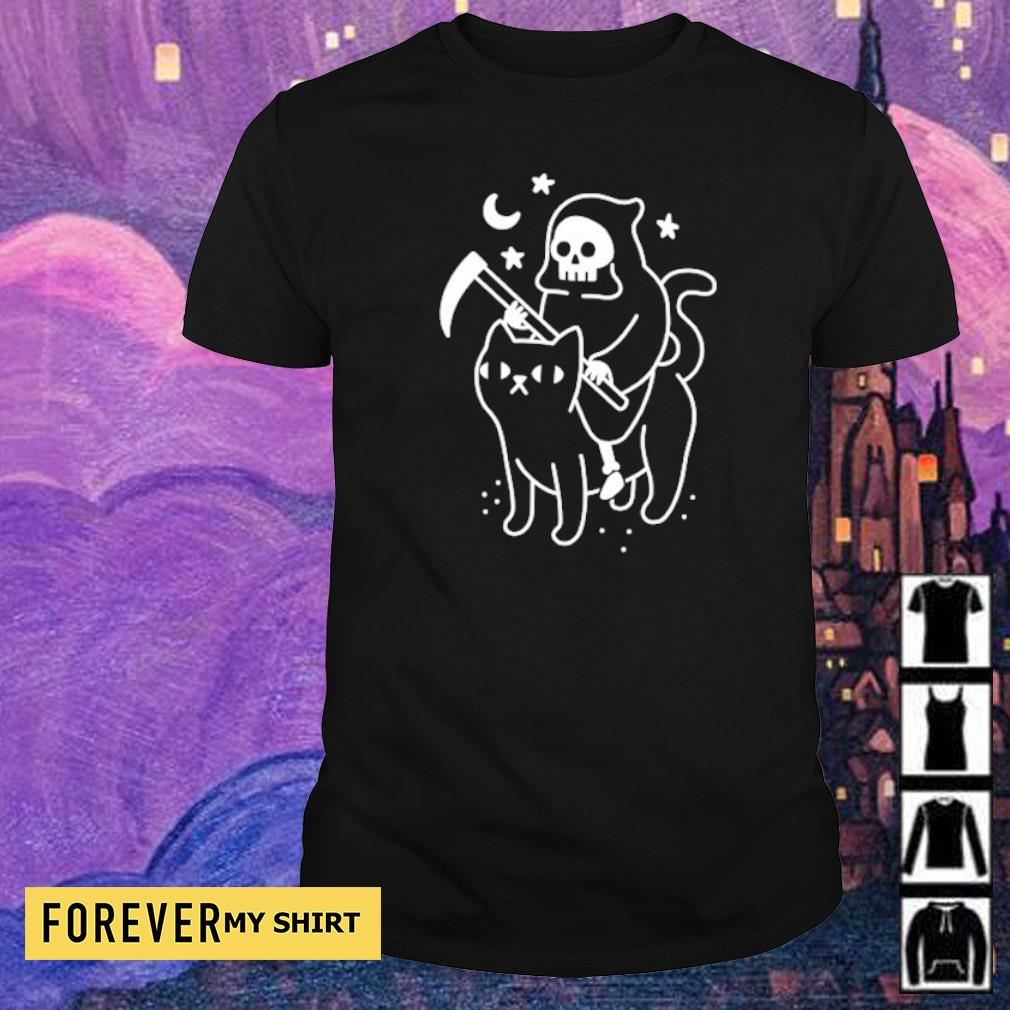 Official Death riding cat shirt