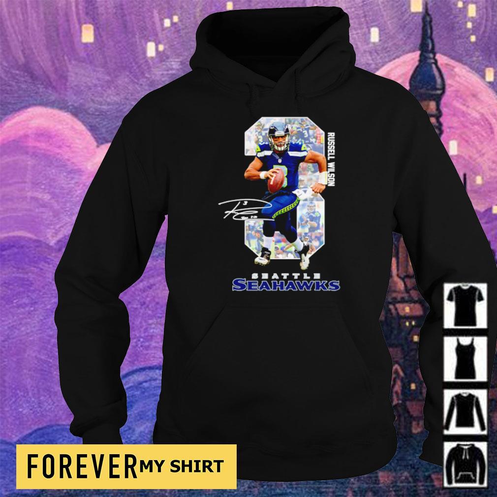Russell Wilson Seattle Seahawks s hoodie