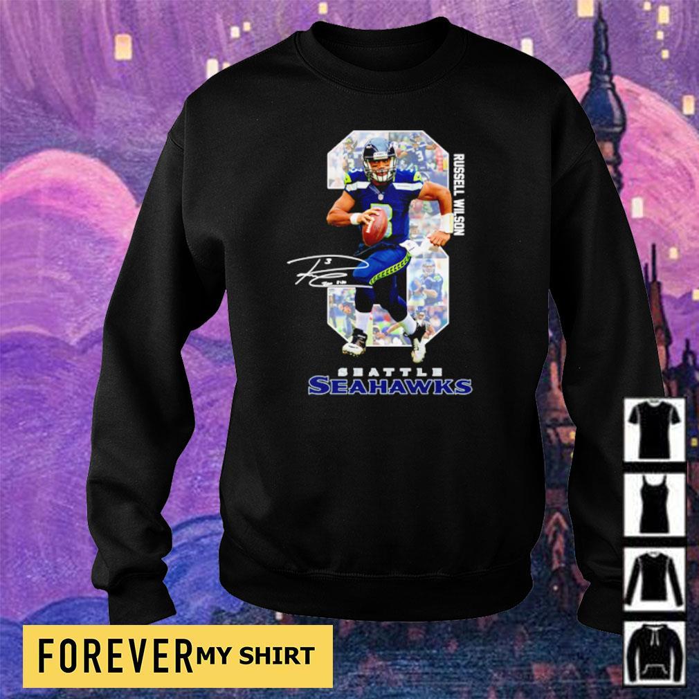 Russell Wilson Seattle Seahawks s sweater