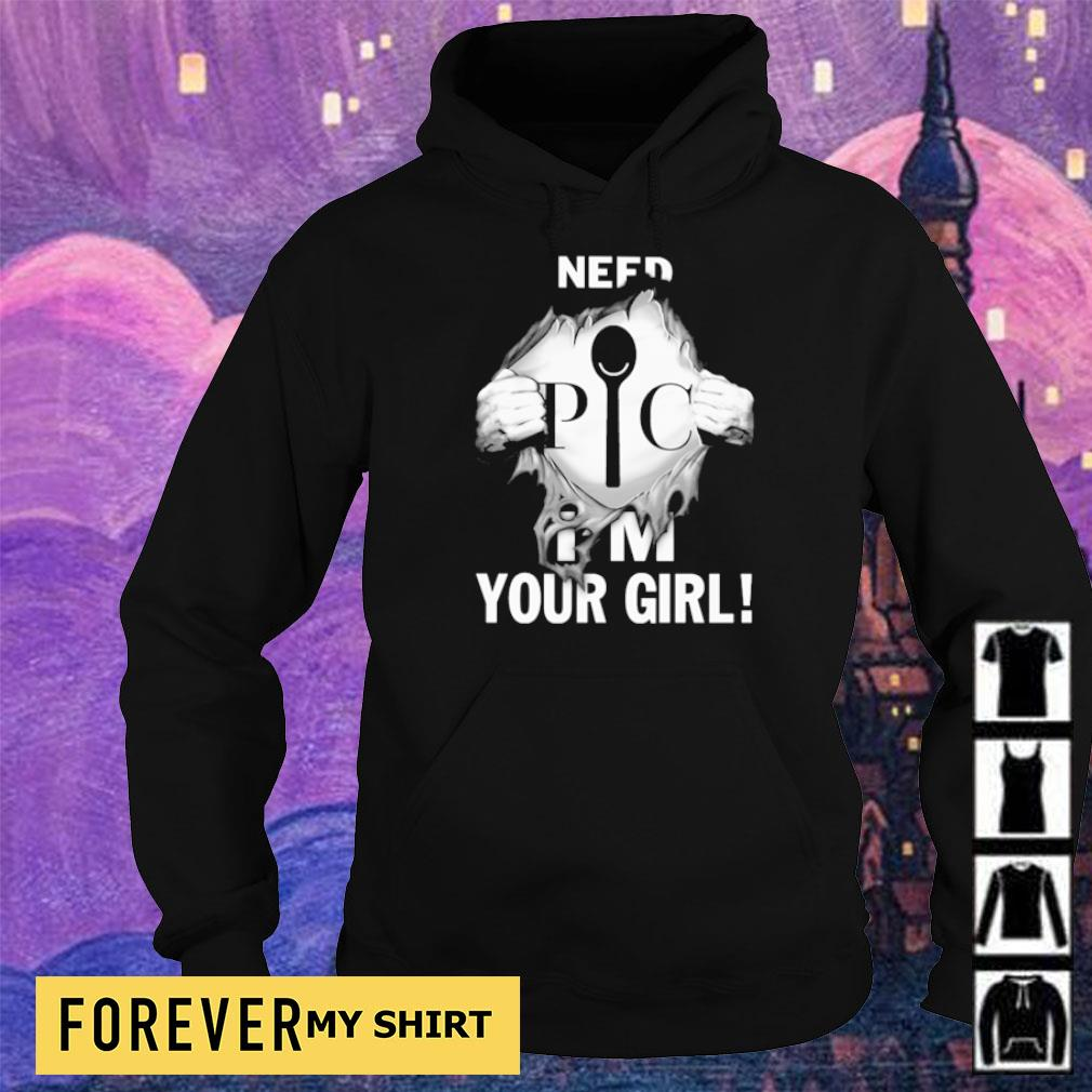 Spoon PIC nefd I'm your girl s hoodie