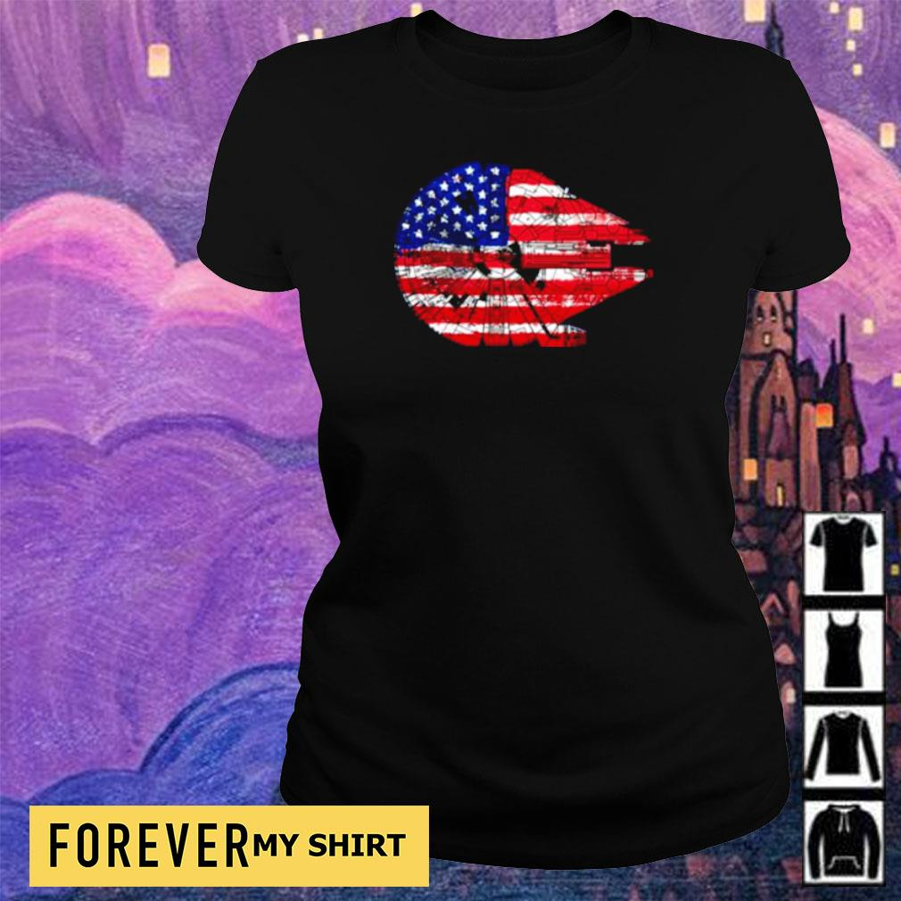 Star Wars Death Star 4th of july independence day s ladies tee