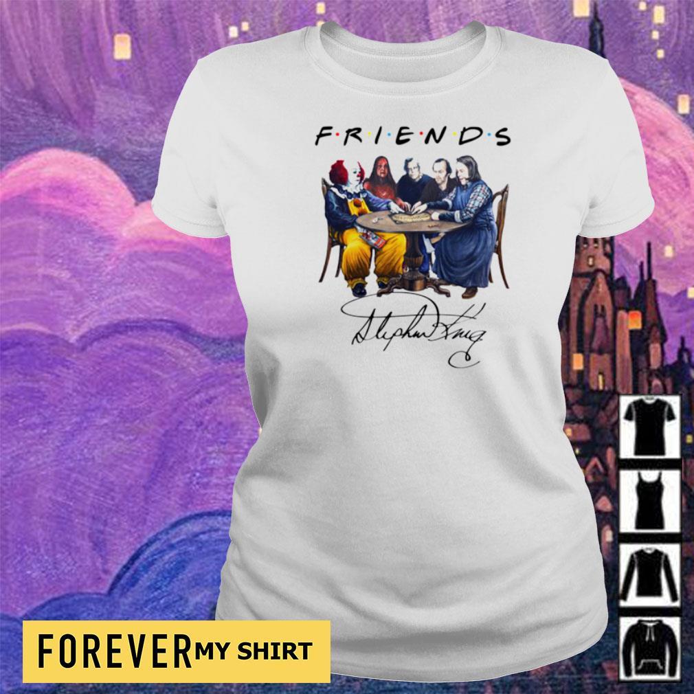 Stephen King Horror Friends white s ladies