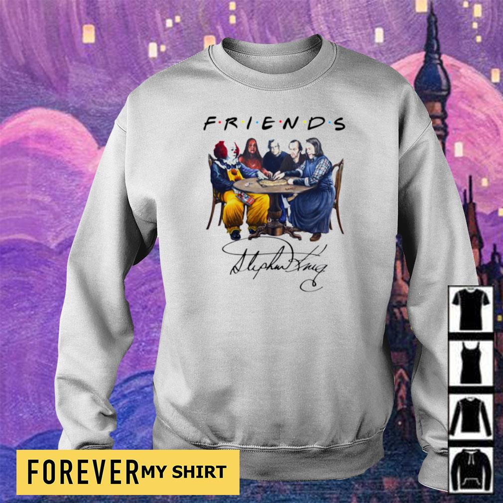 Stephen King Horror Friends white s sweater