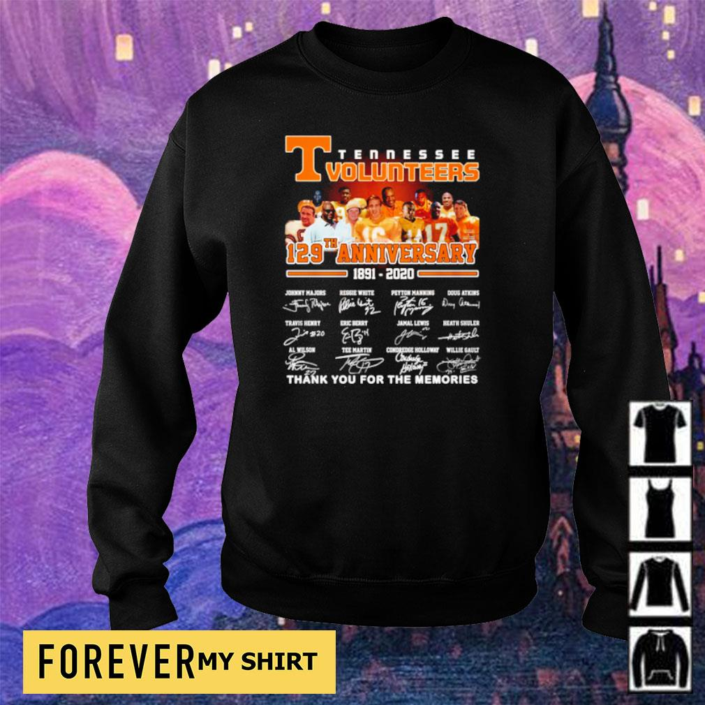 Tennessee Volunteers 127th anniversary thank you for the memories s sweater