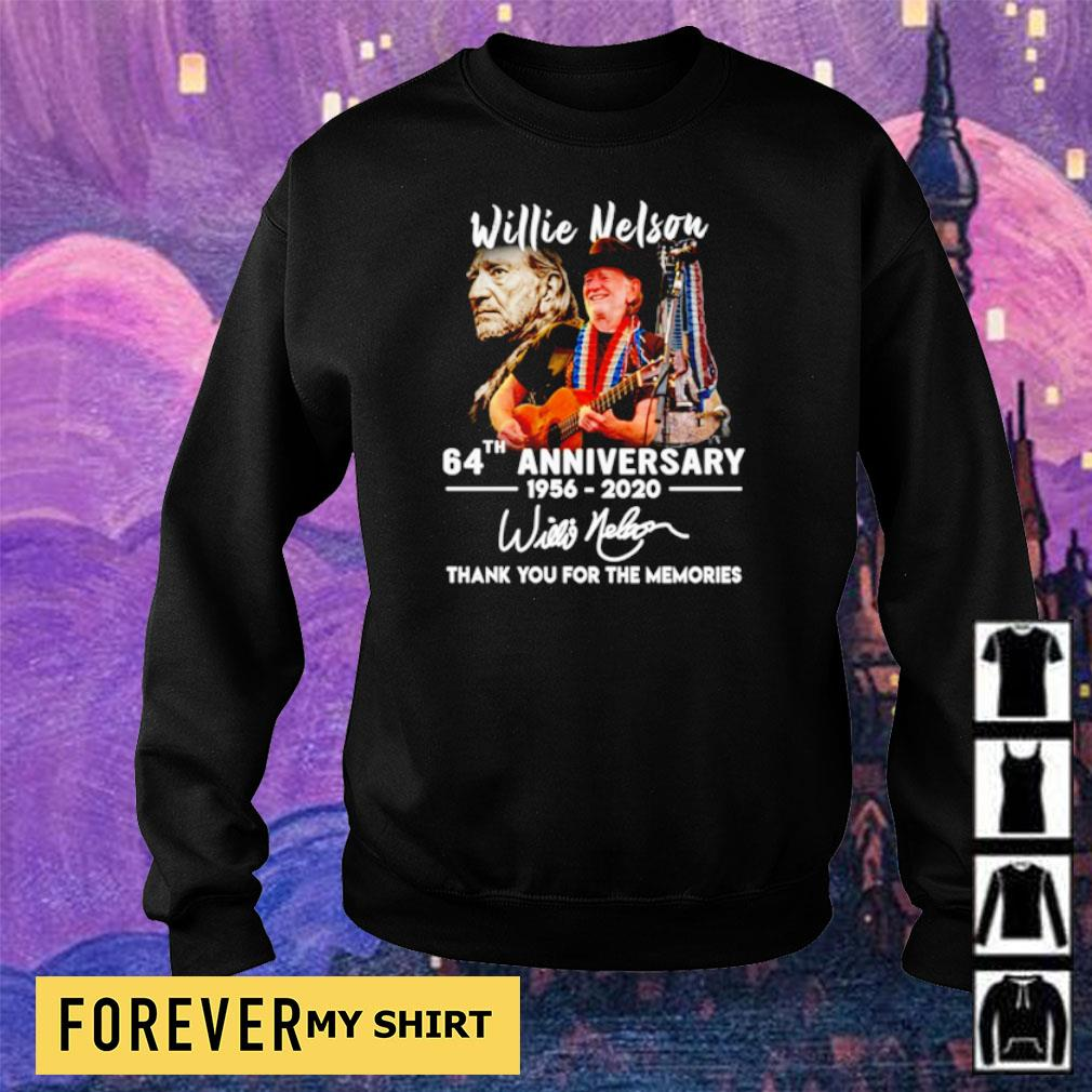 Willie Nelson 64th anniversary thank you for the memories s sweater