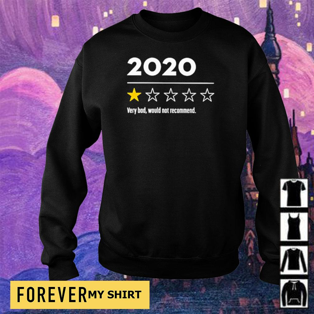 1 star 2020 very bad would not recommend s sweater