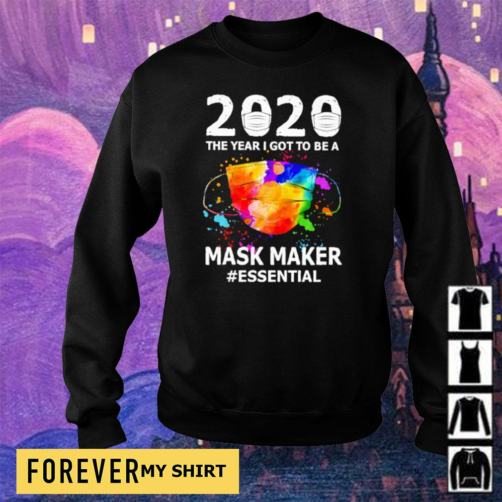 2020 the year I got to be a mask maker #essential s sweater