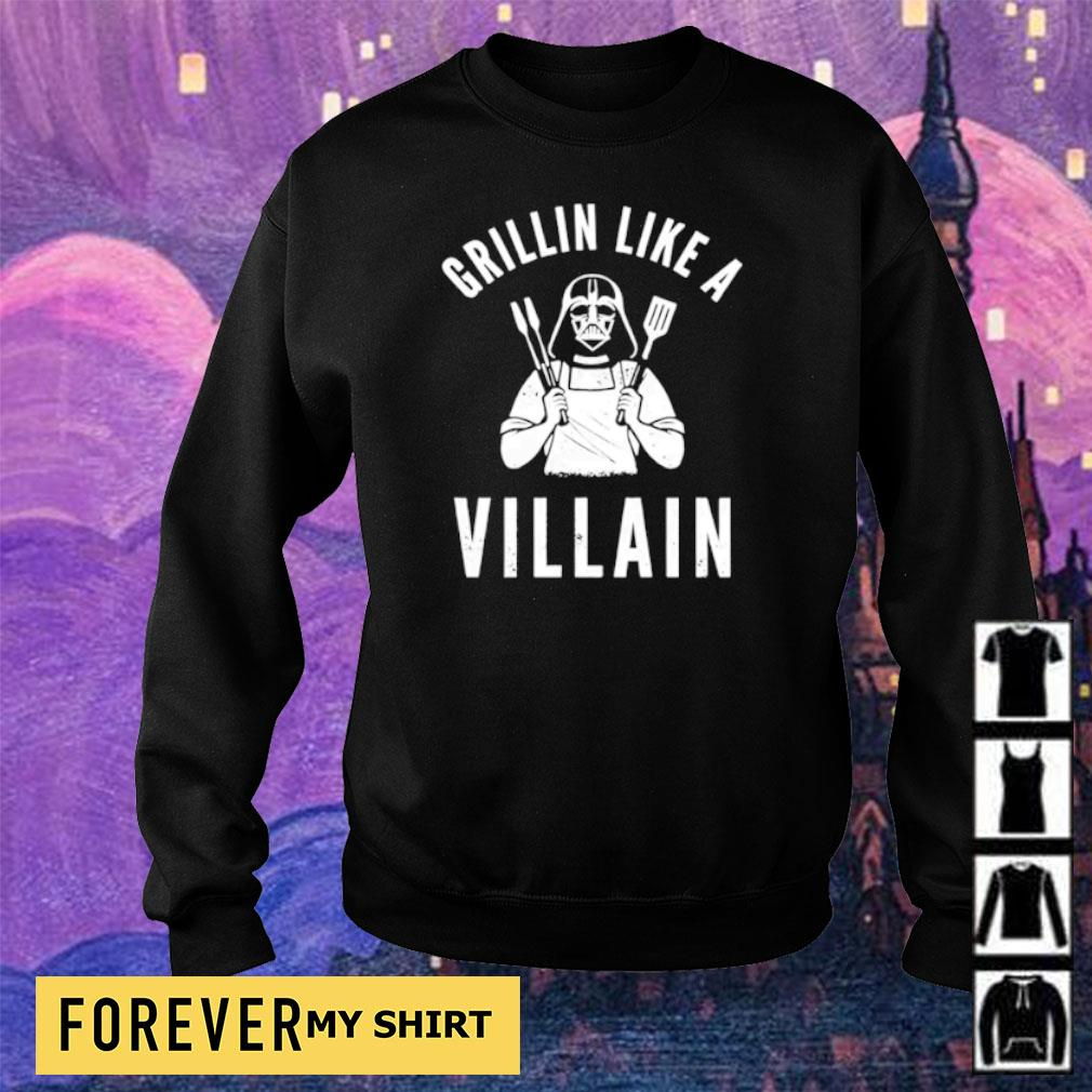 Darth Vader Grillin like a villain s sweater