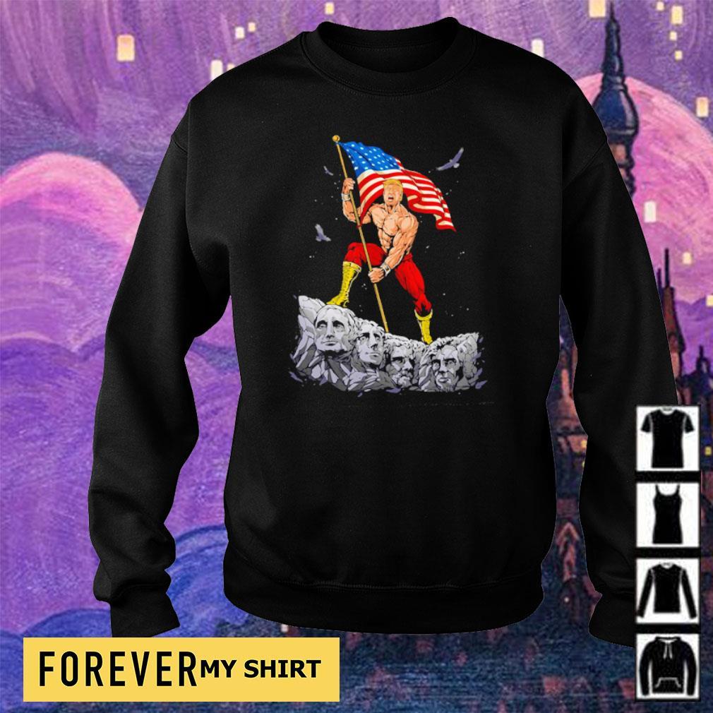Donald Trump Mount Rushmore s sweater