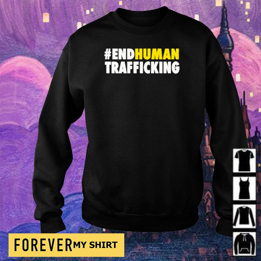 #EndHuman Trafficking s sweater
