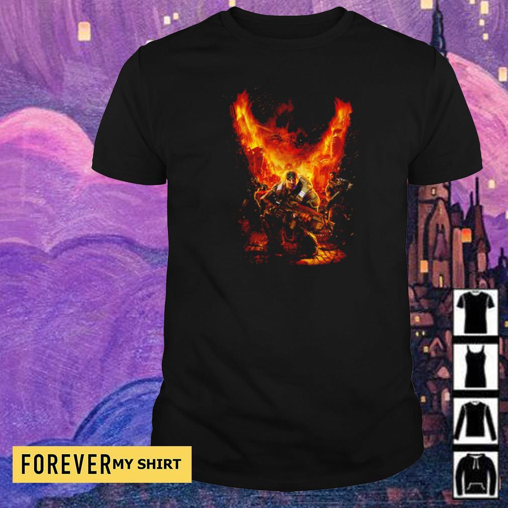 Gears of War Marcus Fenix War Rages shirt