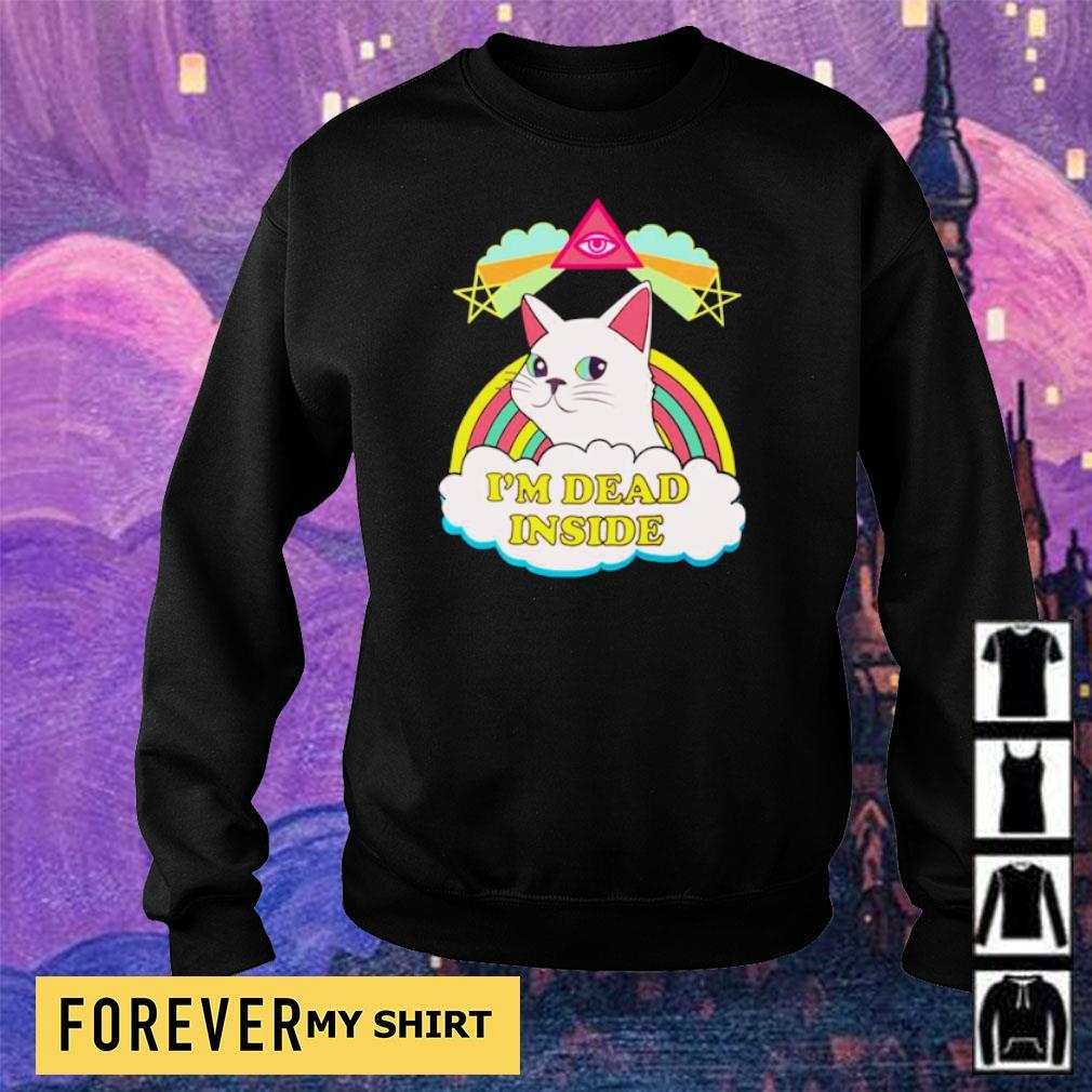 I'm dead inside rainbow s sweater