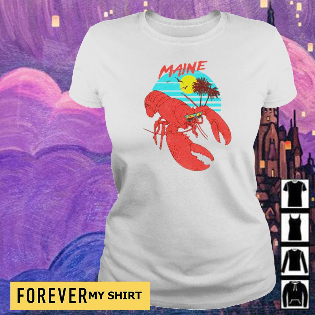 Lobster maine beach vintage s ladies