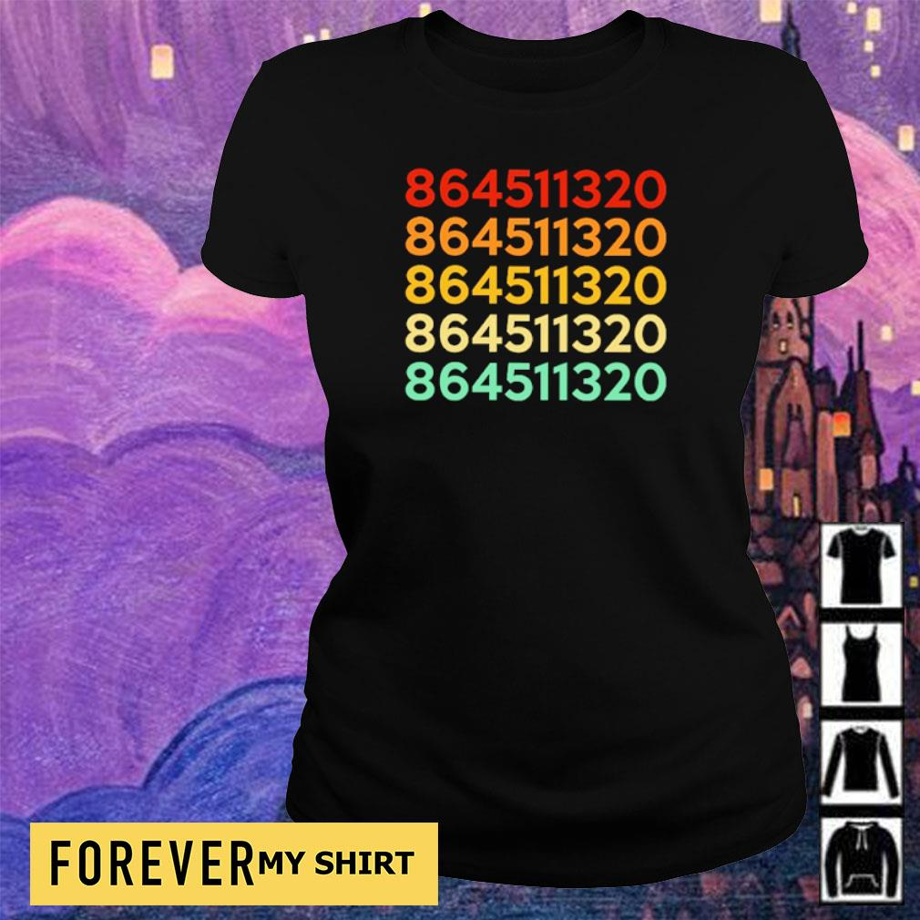 Numbers 864511320 s ladies tee