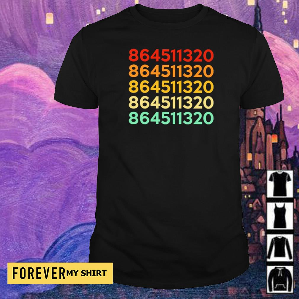 Numbers 864511320 shirt