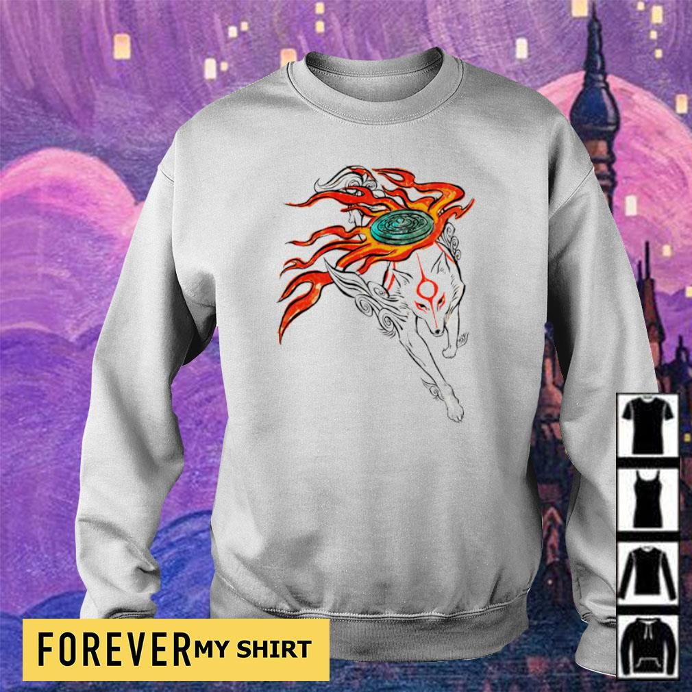 Okami Sun Goddess s sweater