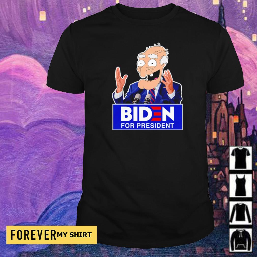 Old Biden for president shirt