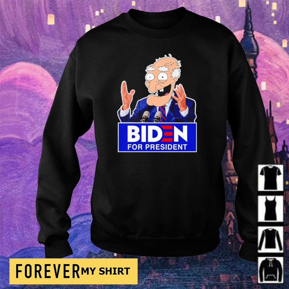 Old Biden for president s sweater
