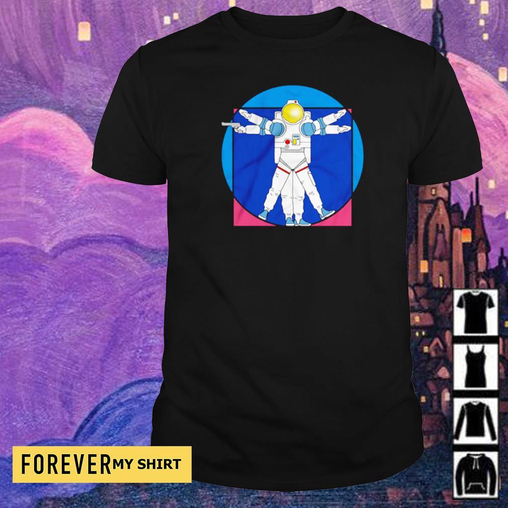 Policenaut's logo Space Police shirt