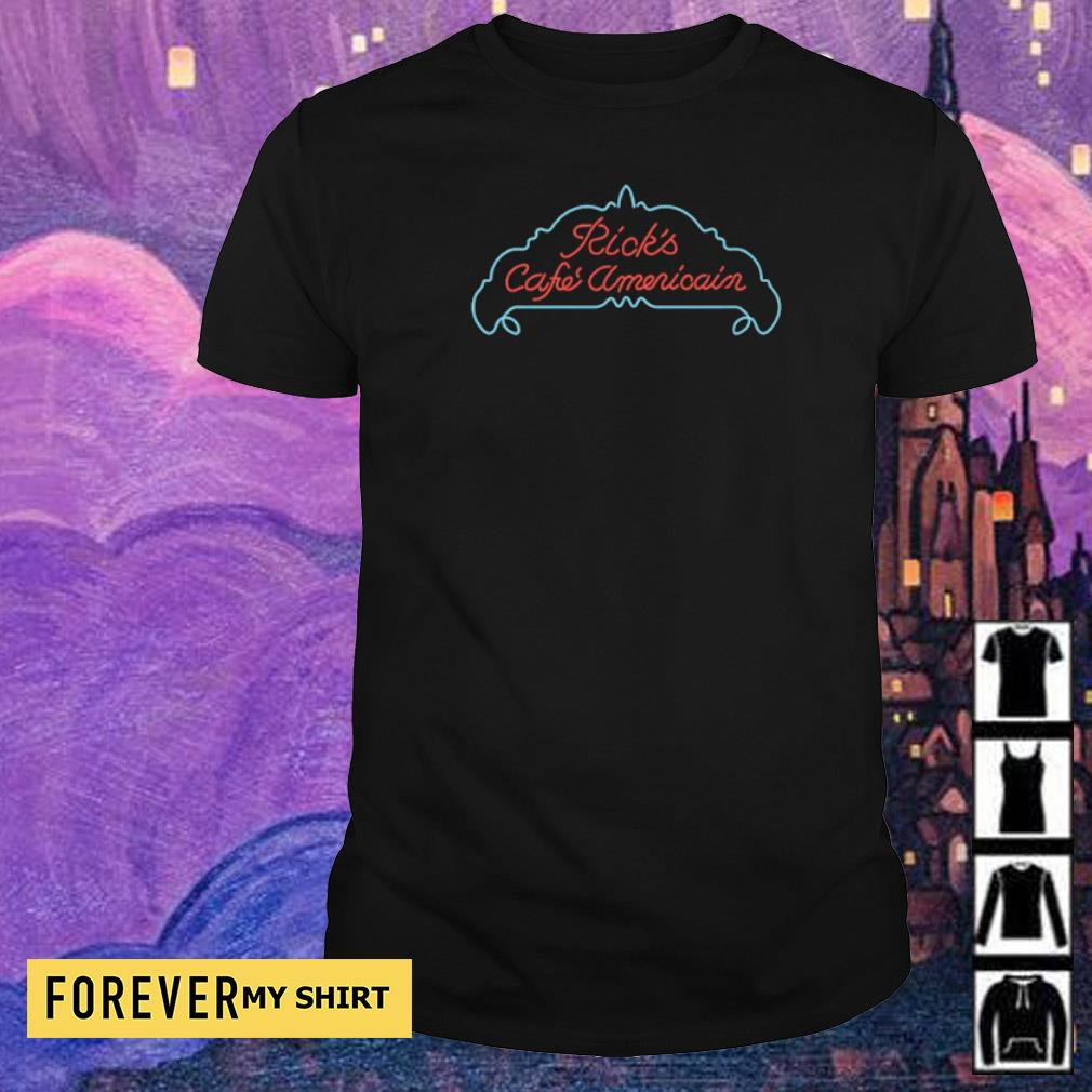 Ricks cafe Americain Casablanca shirt