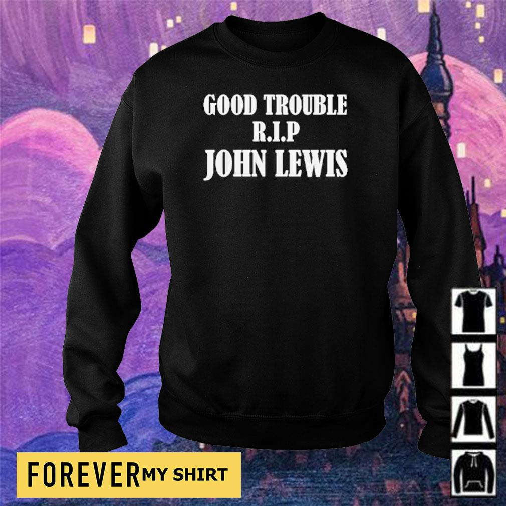 RIP John Lewis good trouble s sweater