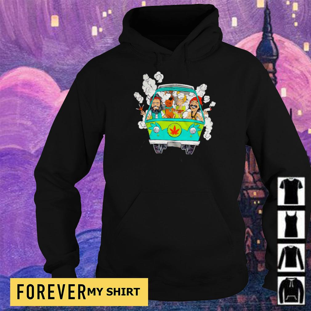 Scooby-Doo and Friends chilling in minivan s hoodie