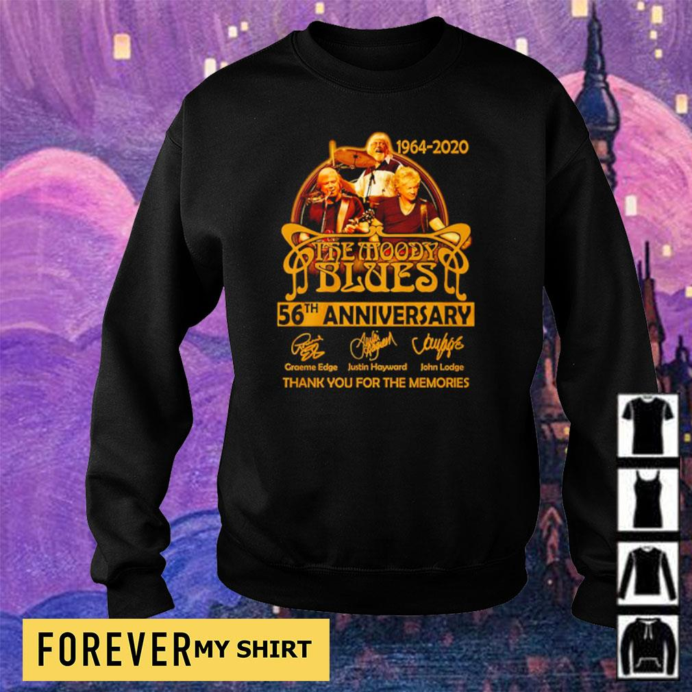 The Moddy Blues 56th anniversary thank you for the memories s sweater
