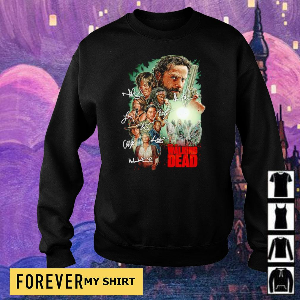 The Walking Dead characters's signature s sweater