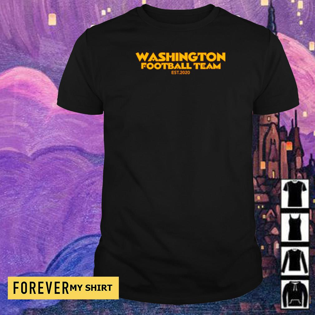 Washington Footbal Team EST 2020 shirt