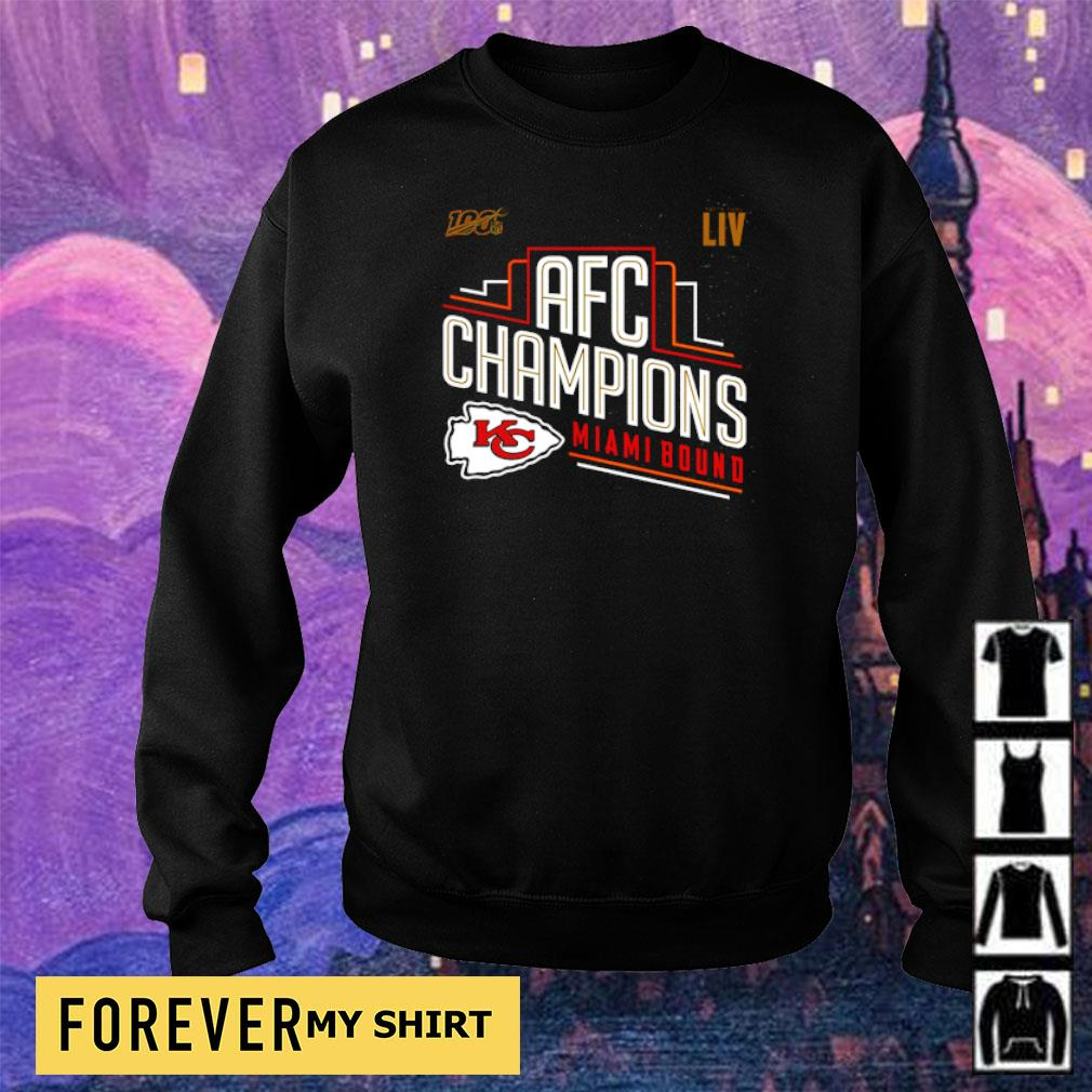 100% LIV AFC Champions Miami Bound s sweater