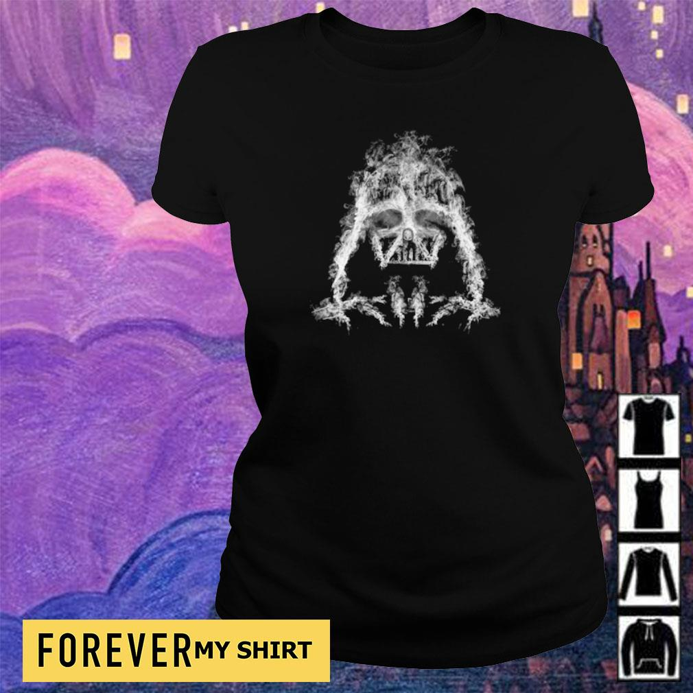 Awesome Star Wars Darth Vader Smoke s ladies tee