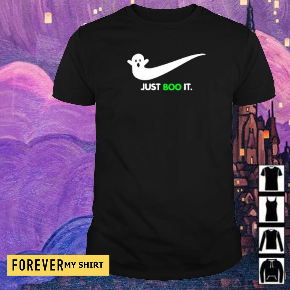Halloween Ghost Nike Just Boo It shirt