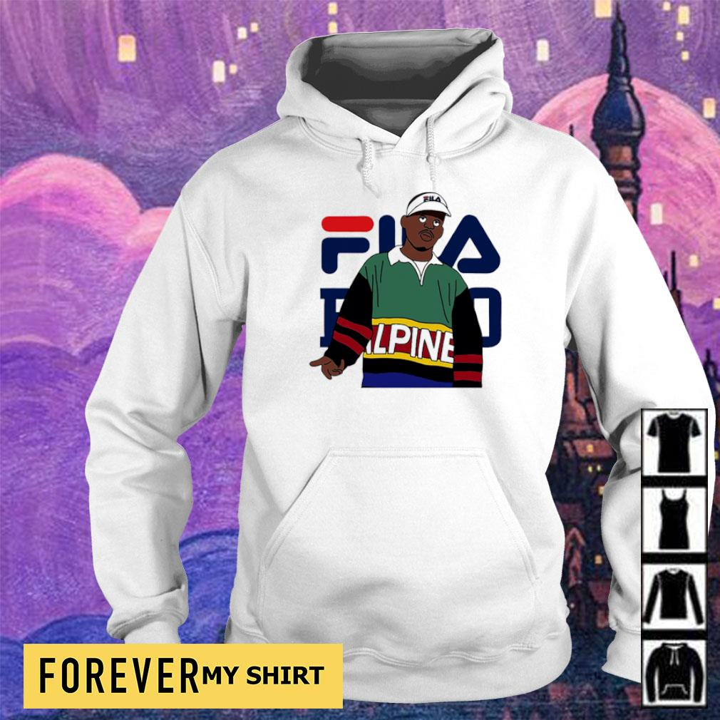 Official awesome Fila Alpine s hoodie