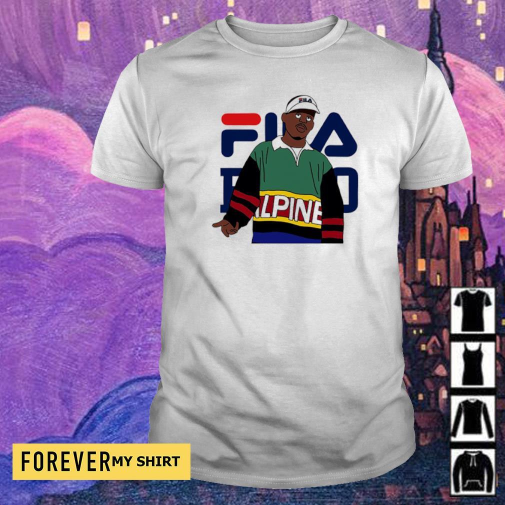 Official awesome Fila Alpine shirt