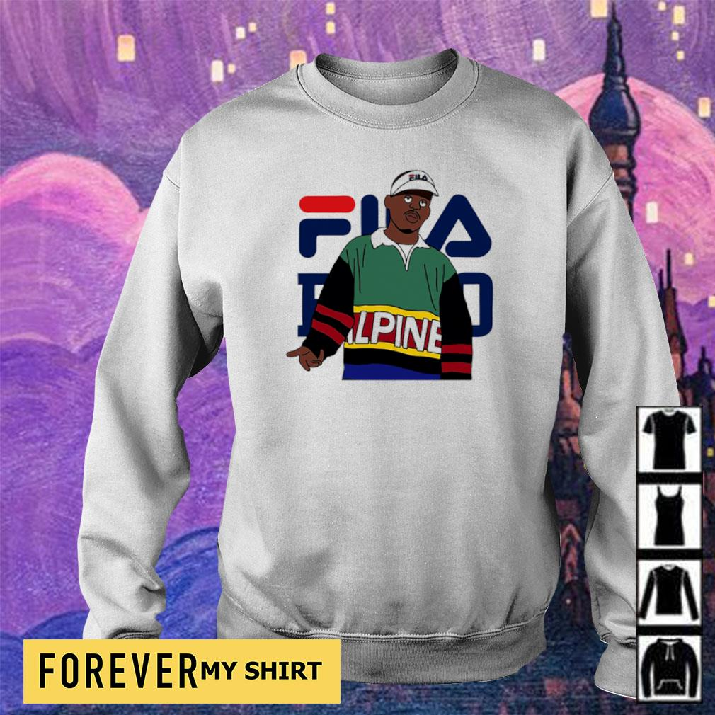 Official awesome Fila Alpine s sweater
