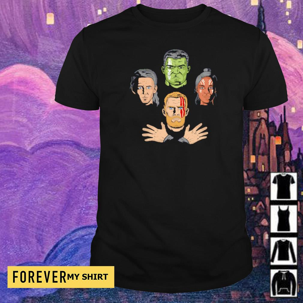 Revengers Rhapsody Thor Valkyrie Hulk Loki Avengers End Game shirt