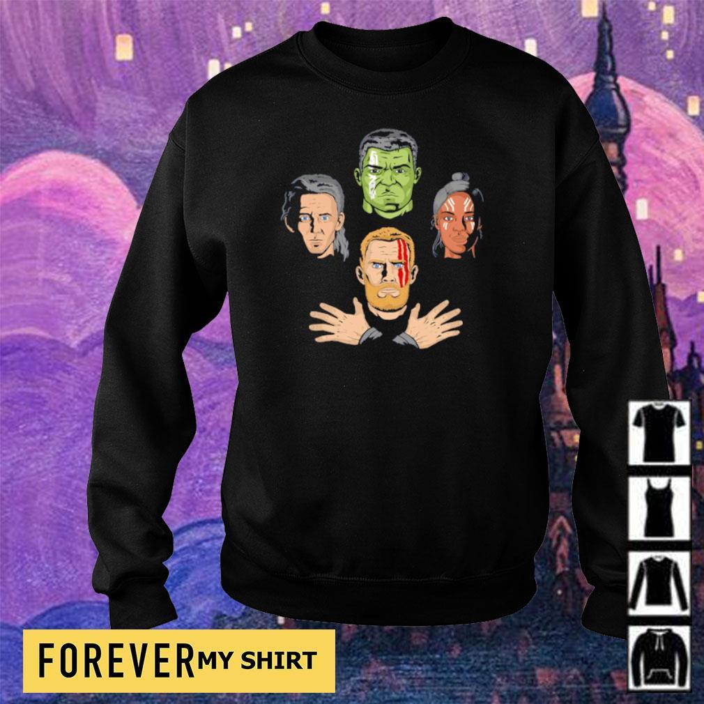 Revengers Rhapsody Thor Valkyrie Hulk Loki Avengers End Game s sweater