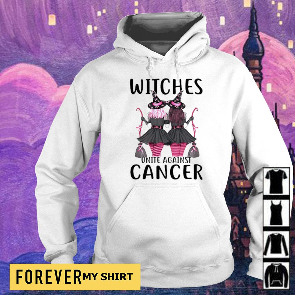Witches unite against cancer s hoodie