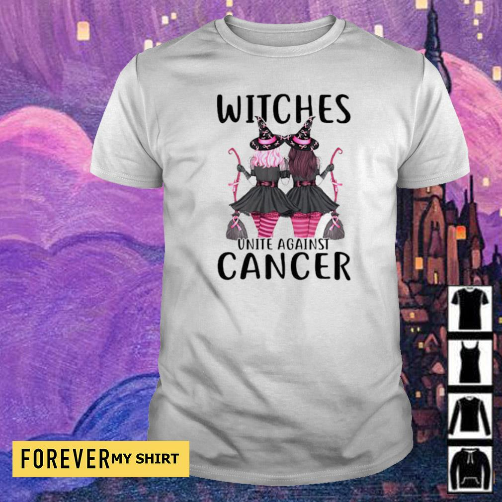 Witches unite against cancer shirt