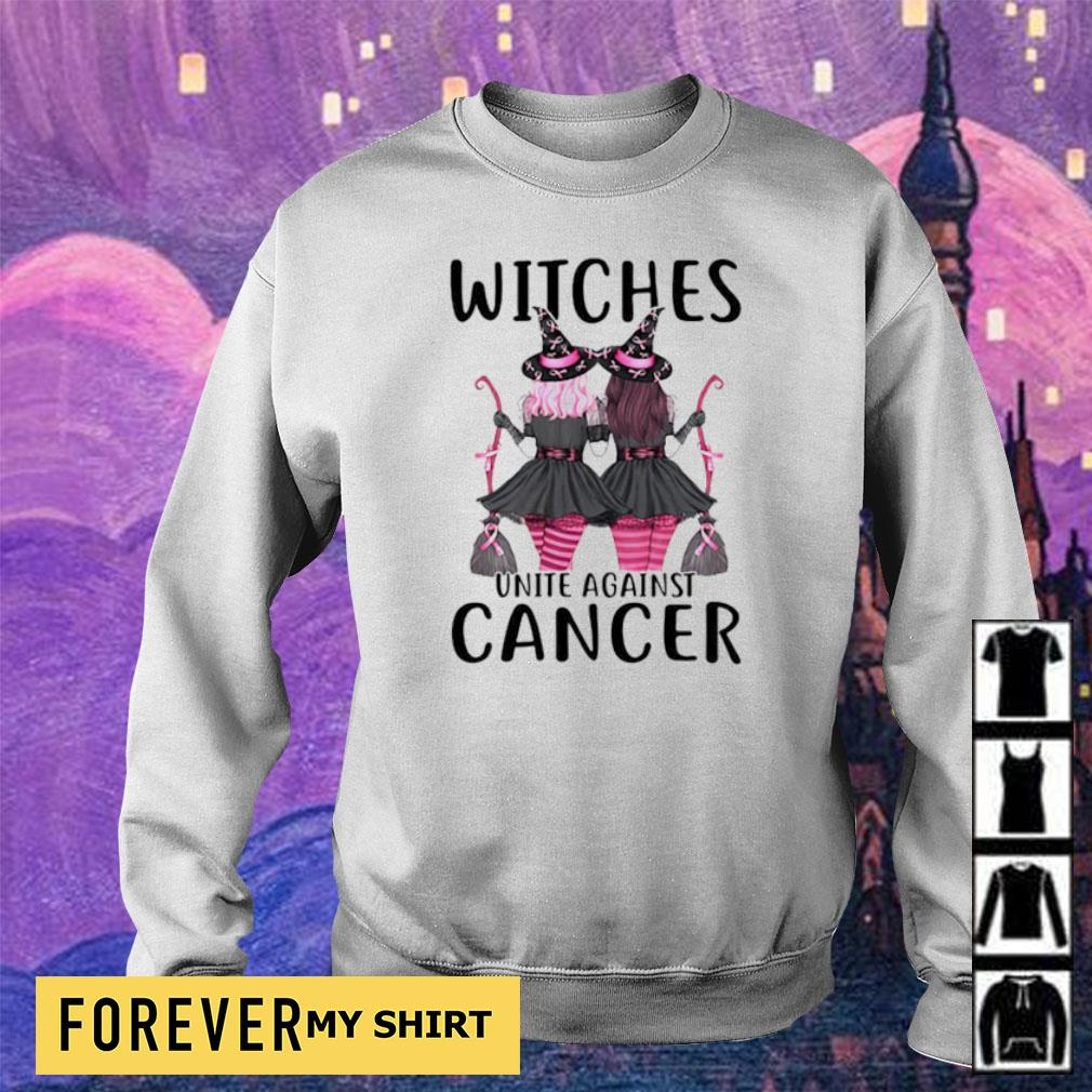Witches unite against cancer s sweater