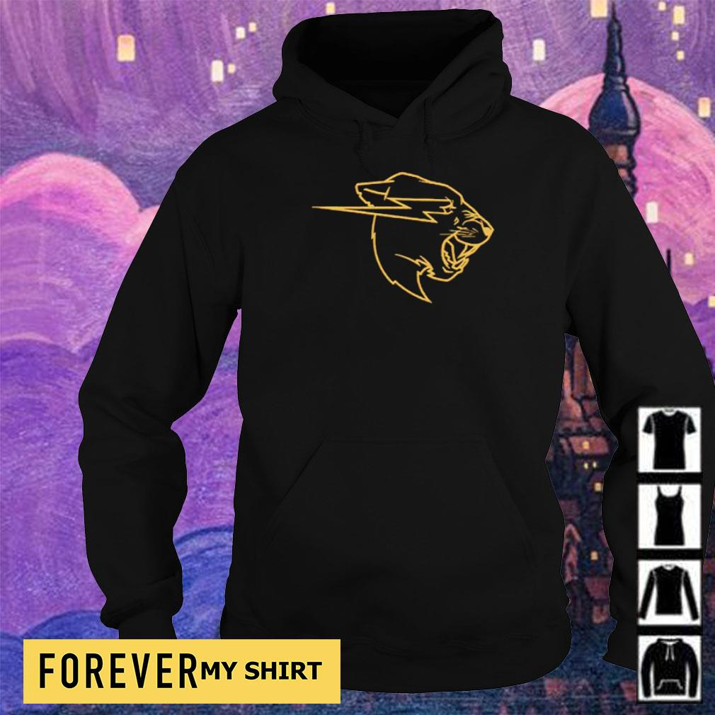 Awesome Gold Beast logo s hoodie