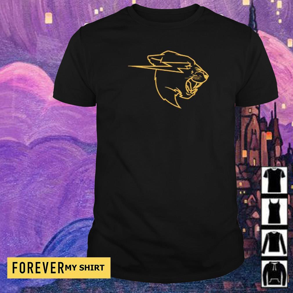 Awesome Gold Beast logo shirt