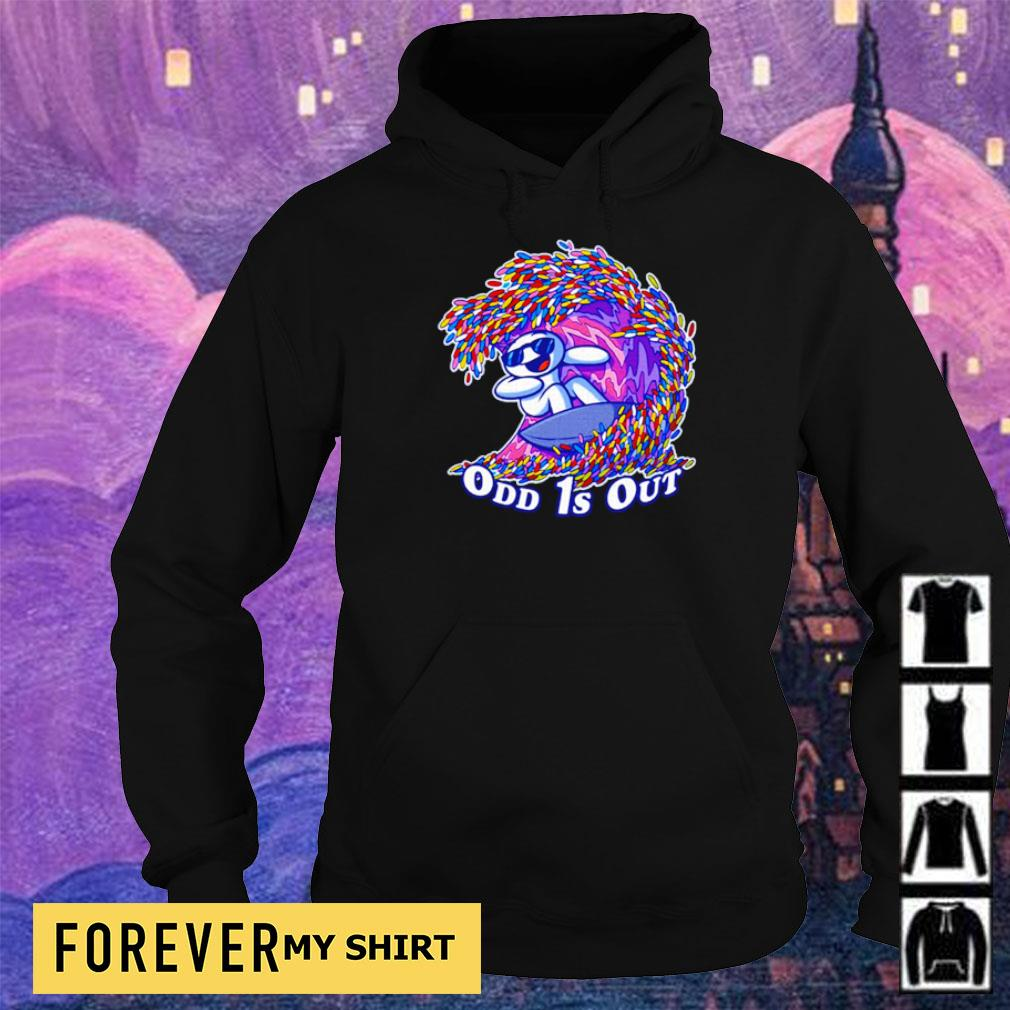 Awesome surfing odd 1s out s hoodie