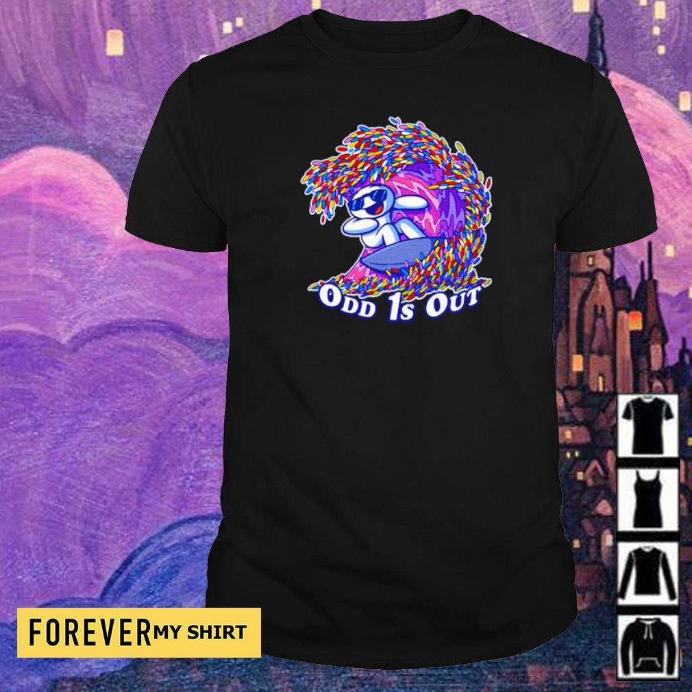 Awesome surfing odd 1s out shirt